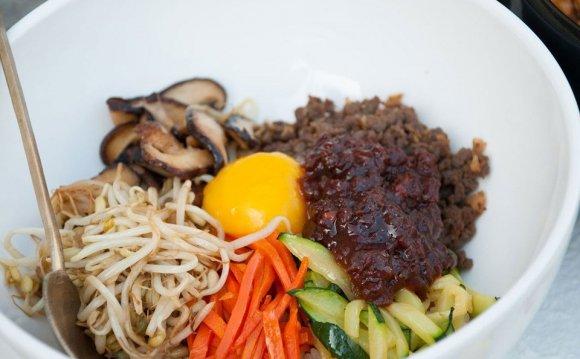 Bibimbap (Korean Rice With