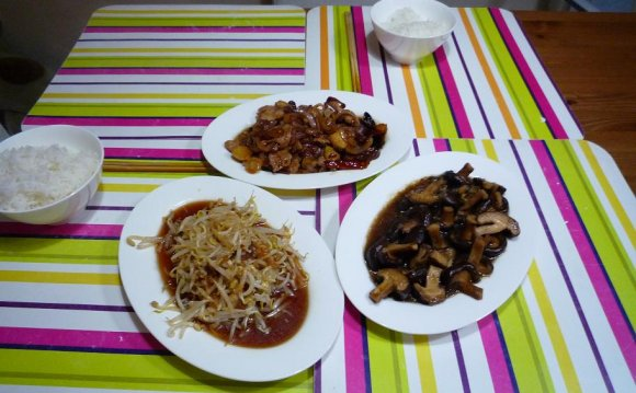 Home Cooked Chinese Dinner 2