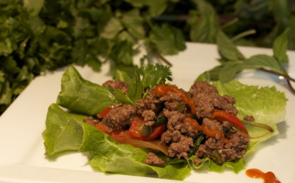 And fun, too. lettuce wraps