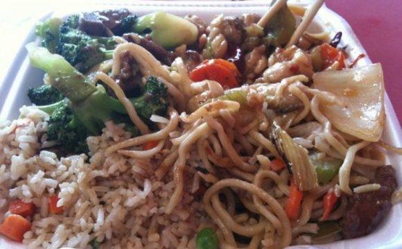 Stir Fry Chinese Food