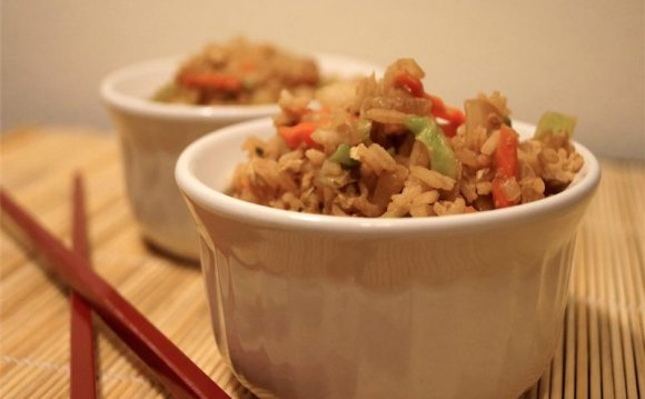 Healthy Chinese rice recipe