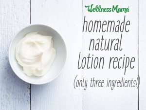 do-it-yourself normal lotion meal with just three components